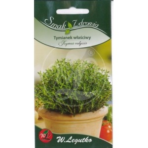 Nasiona tymianku można dostać prawie w każdym sklepie ogrodniczym a na pewno w sklepie Ziołowo na Alllegro