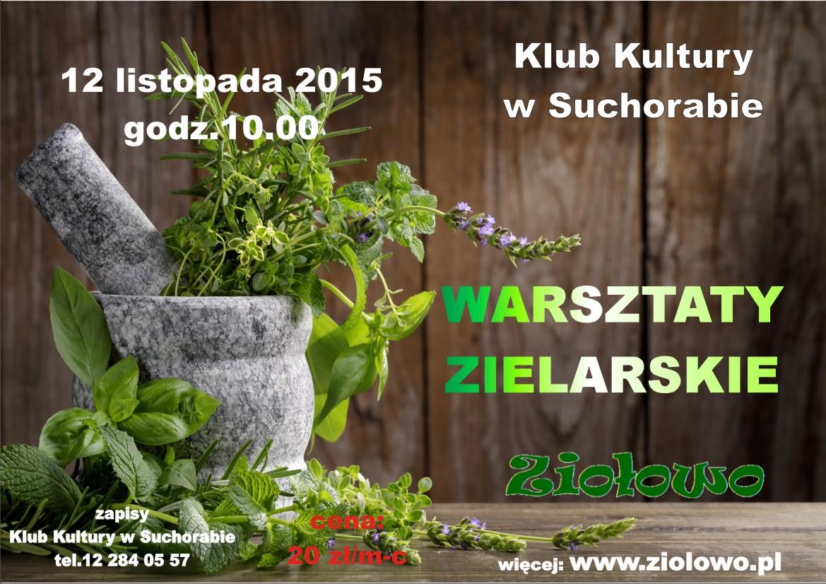 plakat zielarskie Suchoraba